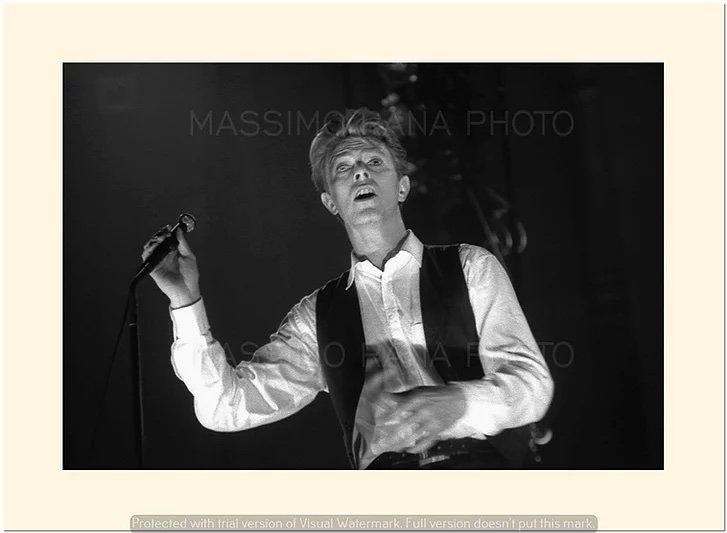 David Bowie Sound and Vision Tour Milano 14 Aprile 1990 Foto Massimo Rana 4