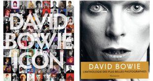 copertina inglese e francese Icon David Bowie libro foto recensione