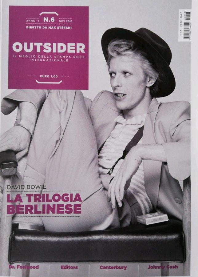 Copertina Outsider recensione The Next Day