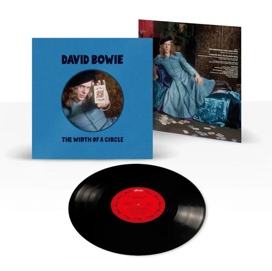 David Bowie the width of a circle vinile 10 pollici