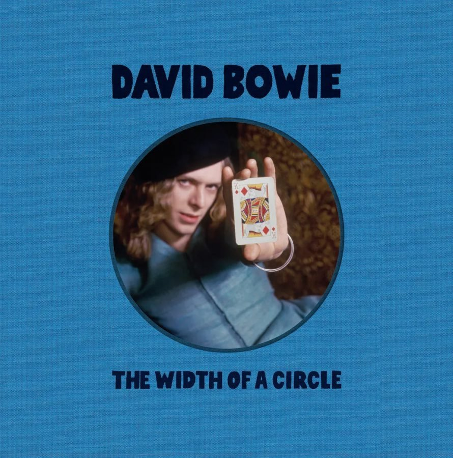 David Bowie the width of a circle copertina