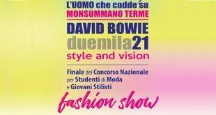 Bowie Style and Vision : la sfilata finale del fashion show 2