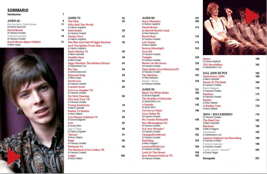 David Bowie - tutti gli album. Intervista a Francesco Donadio 3
