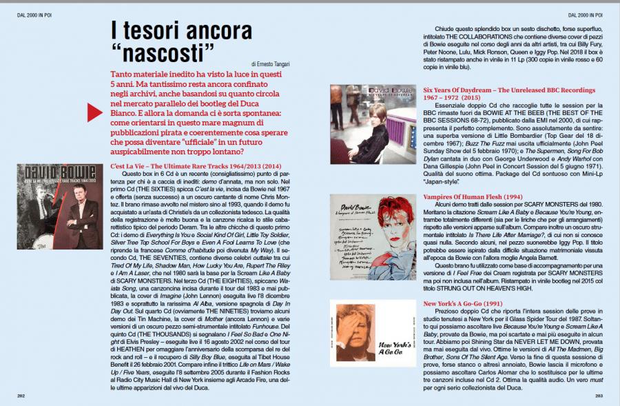 David Bowie - tutti gli album. Intervista a Francesco Donadio 8