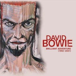 Brilliant Adventure Bowie cofanetto box