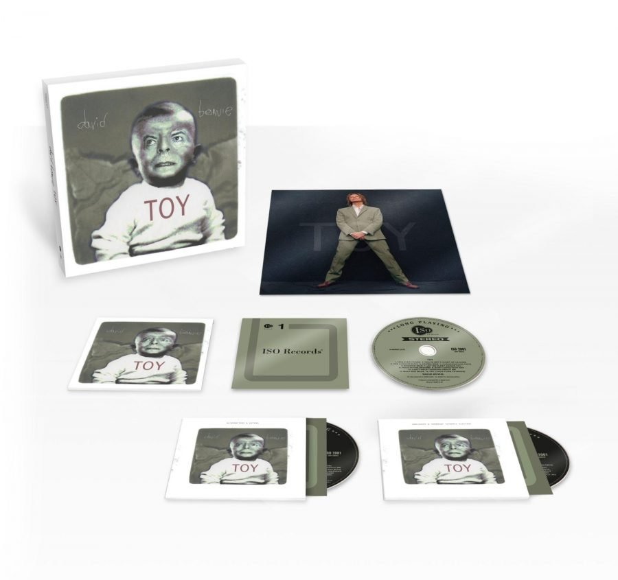 David Bowie Toy CD box cofanetto