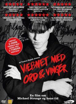 Locandina film Væbnet Med Ord & Vinger Michael Strunge David Bowie Speed of Life